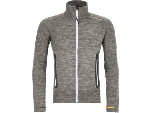 Ortovox Merino Fleece Light Melange Jacket Herr grey blend